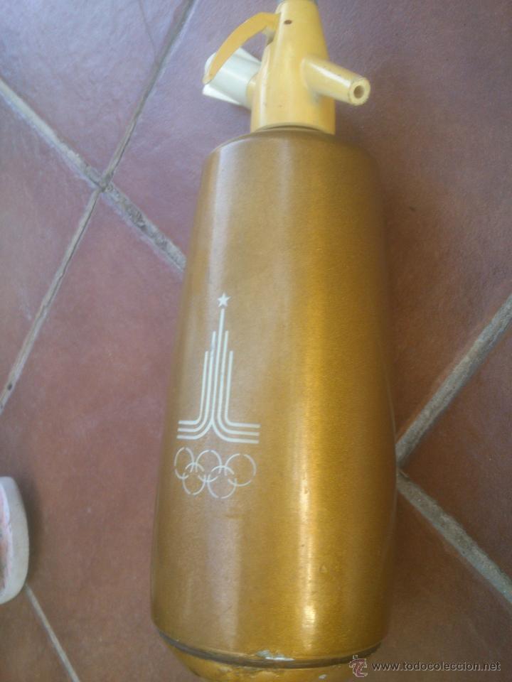 Coleccionismo deportivo: sifon juegos olimpicos olimpiadas moscu 1980 - Foto 3 - 51231252