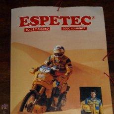 Coleccionismo deportivo: CARPETA ESPETEC RALLY PARIS-DAKAR 88. 33 X 23,5 CM. VER FOTOS Y DESCRIPCION.. Lote 51786466