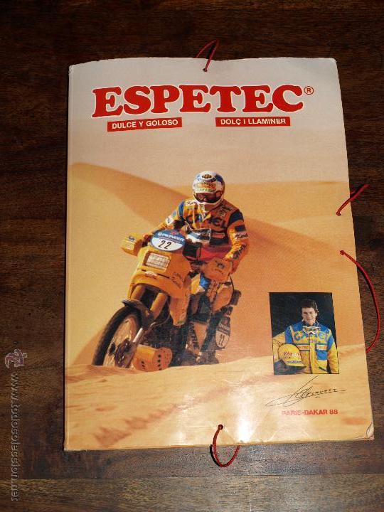 Coleccionismo deportivo: CARPETA ESPETEC RALLY PARIS-DAKAR 88. 33 X 23,5 CM. VER FOTOS Y DESCRIPCION. - Foto 2 - 51786466