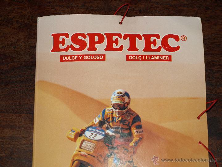 Coleccionismo deportivo: CARPETA ESPETEC RALLY PARIS-DAKAR 88. 33 X 23,5 CM. VER FOTOS Y DESCRIPCION. - Foto 3 - 51786466