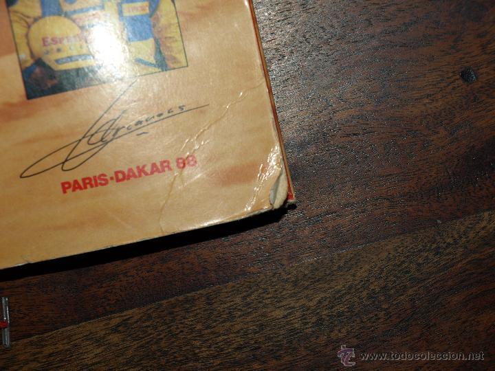 Coleccionismo deportivo: CARPETA ESPETEC RALLY PARIS-DAKAR 88. 33 X 23,5 CM. VER FOTOS Y DESCRIPCION. - Foto 5 - 51786466