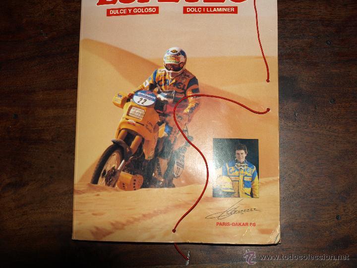 Coleccionismo deportivo: CARPETA ESPETEC RALLY PARIS-DAKAR 88. 33 X 23,5 CM. VER FOTOS Y DESCRIPCION. - Foto 6 - 51786466