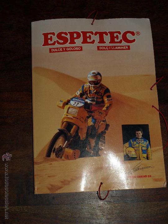 Coleccionismo deportivo: CARPETA ESPETEC RALLY PARIS-DAKAR 88. 33 X 23,5 CM. VER FOTOS Y DESCRIPCION. - Foto 15 - 51786466