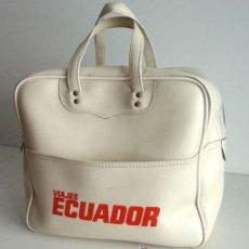 Coleccionismo deportivo: ANTIGUA BOLSA DE DEPORTES DE VIAJES ECUADOR. Lote 52497773