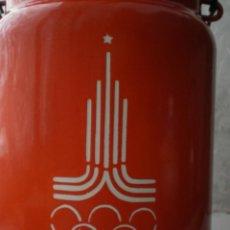 Coleccionismo deportivo: JUEGOS OLIMPICOS DE MOSCU. 1980. ENVASE METÁLICO O LECHERA.. Lote 52544567