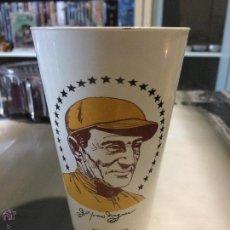 Coleccionismo deportivo: COLECCIONABLE USA AÑO 1973. VASO CAFÉ DE 7 ELEVEN. HONUS WAGNER JUGADOR DE LOS PITTSBURGH PIRATES.. Lote 53725404