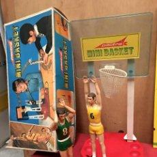 Coleccionismo deportivo: JUEGO JUGUETE BASQUET BASKETBOL BALONCESTO AÑOS 70 DOS JUGADORES (50). Lote 53857277