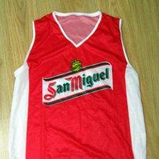 Coleccionismo deportivo: CAMISETA SHIRT BALONCESTO BASKET SELECCION ESPAÑOLA SAN MIGUEL. Lote 54419603