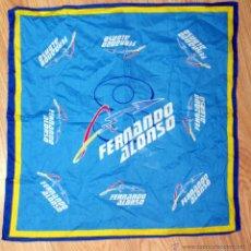 Coleccionismo deportivo: PAÑUELO BANDANA FERNANDO ALONSO FORMULA UNO F1 CAMPEON MUNDO RENAULT. Lote 54419627