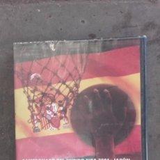 Coleccionismo deportivo: DVD NUEVO FINAL CAMPEONATO DEL MUNDO BALONCESTO BASKETBALL MUNDIAL FIBA 2006 ESPAÑA GRECIA PAU GASOL. Lote 55551172