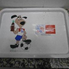 Coleccionismo deportivo: BANDEJA COCA COLA WORLDCUP USA 94. Lote 56159485