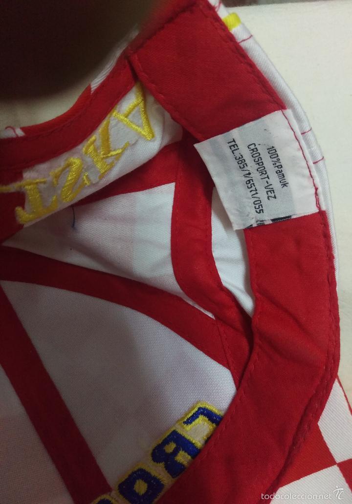 Coleccionismo deportivo: GORRA TELA FUTBOL CROATIA CROACIA TALLA 54 CM. - Foto 4 - 56801175