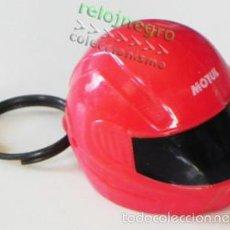 Coleccionismo deportivo: LLAVERO - CASCO ROJO - DE MOTUL - PUBLICIDAD - ES TAPÓN - MOTERO - MOTOS MOTO - DEPORTE TRANSPORTE. Lote 57949376