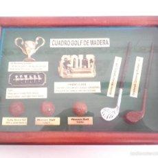 Coleccionismo deportivo: CUADRO DECORACIÓN GOLF.. Lote 58609413