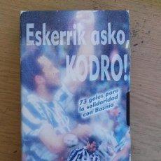 Coleccionismo deportivo: CINTA VHS GRACIAS KODRO . Lote 61657732