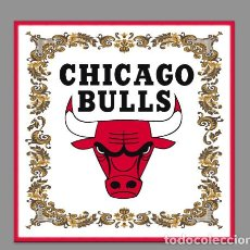 Coleccionismo deportivo: AZULEJO 15X15 DE LOS CHICAGO BULLS. Lote 62179636