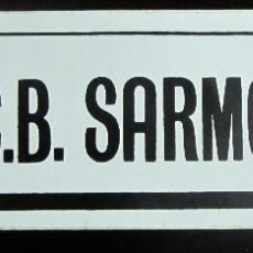 Coleccionismo deportivo: PEGATINA BALONCESTO BASKET C.B. SARMODI UNION DEPORTIVA PORRIÑO. Lote 64185015