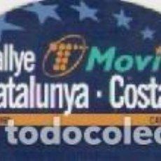 Colecionismo desportivo: 34 RALLYE CATALUNYA COSTA BRAVA *** LLORET DE MAR 1998 *** PEGATINA. Lote 65939870