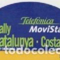 Coleccionismo deportivo: 38 RALLYE CATALUNYA COSTA BRAVA *** LLORET DE MAR 2002 *** PEGATINA. Lote 65940018
