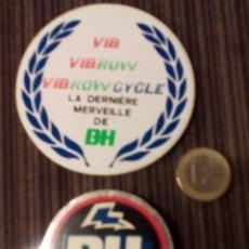Coleccionismo deportivo: PEGATINAS -BH.-CICLOMOTOR MOBYLETTE DESDE LOS 14 AÑOS, GRANDE. Lote 68342605