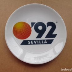 Coleccionismo deportivo: PLATO DE LA EXPO DE SEVILLA DEL 1.992. Lote 69660301