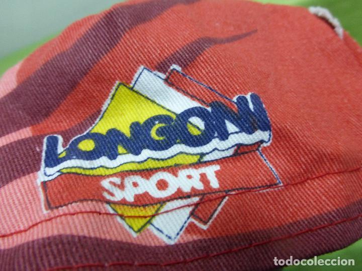 Coleccionismo deportivo: ANTIGUA GORRA DE CICLISMO SAECO LONGONI - PERFECTO ESTADO - GORRA RETRO DE CICLISTA - Foto 4 - 78502609