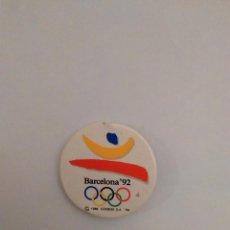 Coleccionismo deportivo: CHAPA CONMEMORATIVA DE LOS JUEGOS OLÍMPICOS DE BARCELONA 92, JJOO 1992 (MIDE 3,7 CM DE DIÁMETRO). Lote 82932868