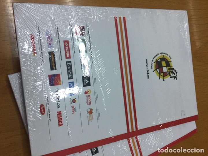 Coleccionismo deportivo: Envío 8€. Dos agendas de RFEF DE LA SELECCIÓN ESPAÑOLA DE FÚTBOL 2012 y 2013 nuevas sin abrir - Foto 3 - 83941712