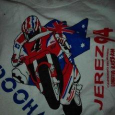 Coleccionismo deportivo: CAMISETA CAMPEONATO MOTOCICLISMO JEREZ 1994 MIKE DOOHAN MERCHANDISING. Lote 90432264