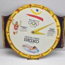 Coleccionismo deportivo: RELOJ MARCADOR OFICIAL TIMER SEIKO BARCELONA 92 JUEGOS OLIMPICOS. Lote 91226764