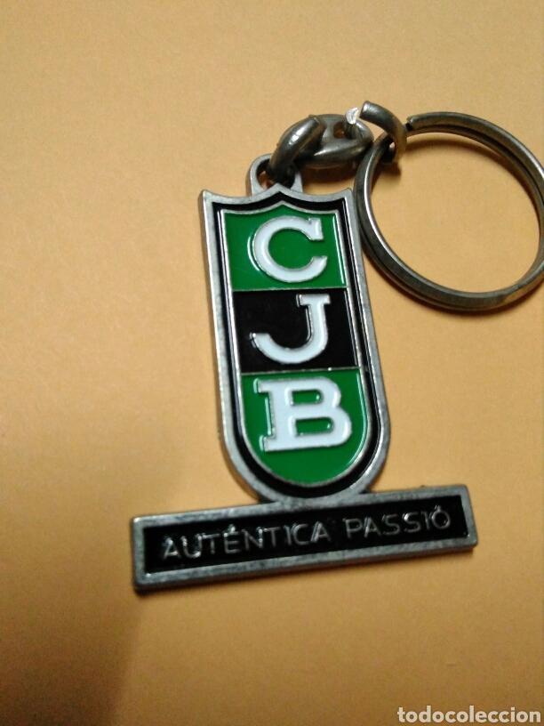 LLAVERO CLUB JOVENTUT BADALONA BALONCESTO BASKET PEÑA (Coleccionismo Deportivo - Merchandising y Mascotas - Otros deportes)