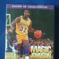 Coleccionismo deportivo: DVD EDICION DE COLECCIONISTAS NBA , MAGIC JOHNSON ALWAYS SHOWTIME. Lote 98486567