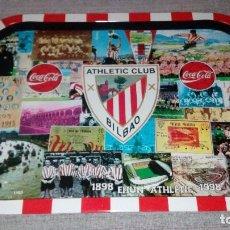 Coleccionismo deportivo: BANDEJA ATHLETIC CLUB DE BILBAO 1998 PRODUCTO OFICIAL CENTENARIO ATHLETIC Y COCA COLA. Lote 99159475