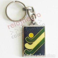 Coleccionismo deportivo: LLAVERO - FEDERACIÓN ANDALUZA DE HOCKEY - LOGOTIPO - FAH - ANDALUCÍA - DEPORTE - LOGO - PUBLICIDAD. Lote 100262679