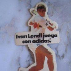 Coleccionismo deportivo: INTERESANTE ADHESIVO PEGATINA TENNIS IVAN LENDL ADIDAS. Lote 100380759