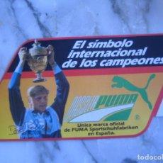 Coleccionismo deportivo: INTERESANTE ADHESIVO PEGATINA TENNIS BORIS BECKER PUMA. Lote 100380803