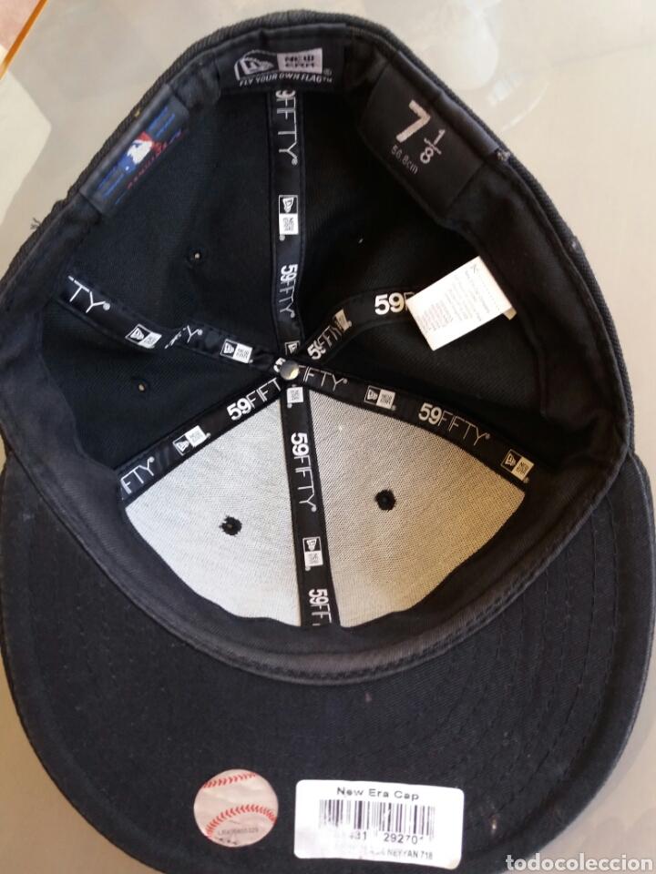 Coleccionismo deportivo: Gorra talla 56, 8 cm (7, 1/8) New York Yankees - Foto 5 - 101136616