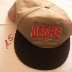 Coleccionismo deportivo: GORRA DESPE. Lote 101700191