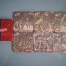Coleccionismo deportivo: SERIE DE 6 POSAVASOS DEL BASKONIA DE BALONCESTO DE CERVEZA ÁMBAR. Lote 45077410