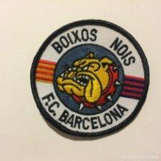 Coleccionismo deportivo: ULTRAS. PARCHE BOIXOS NOIS FUTBOL CLUB BARCELONA. BARÇA. . Lote 143775856