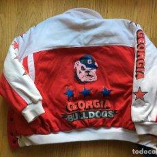 Coleccionismo deportivo: CAZADORA BASEBALL SERIES MUNDIALES NCAA (UNIVERSITARIO) GEORGIA BULLDOGS. Lote 103588115