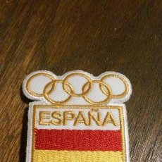 Coleccionismo deportivo: PARCHE TELA OLIMPICO ESPAÑOL. Lote 103729823