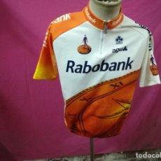 Coleccionismo deportivo: MAILLOT CICLISMO RABOBANK AGU COLNAGO 1996 T.7. Lote 104115015