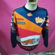 Coleccionismo deportivo: ANTIGUA SUDADERA MOTOCICLISMO ALEX CRIVILLE HONDA REPSOL WORLD CHAMPION. Lote 104115627