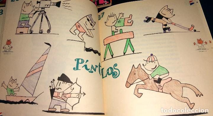 Coleccionismo deportivo: Diccionario Infantil Banesto - Cobi va al banco - Mascota Olimpiada Barcelona 92 con ilustraciones - Foto 4 - 104563347