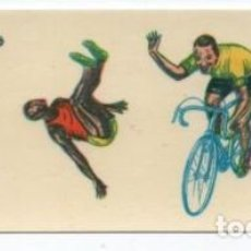 Coleccionismo deportivo: (ALB-TC-11) ANTIGUA HOJA CALCOMANIAS ORTEGA TEMA DEPORTES. Lote 104627551