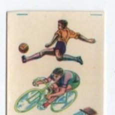 Coleccionismo deportivo: (ALB-TC-11) ANTIGUA HOJA CALCOMANIAS ORTEGA TEMA DEPORTES. Lote 104627607