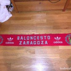 Coleccionismo deportivo: BUFANDA BALONCESTO ZARAGOZA ADIDAS,. Lote 104832455