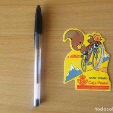 Coleccionismo deportivo - Pegatina ciclismo Vuelta Ciclista a España 1985 Gran Premio Caja Postal - 105015591