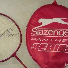 Coleccionismo deportivo: RAQUETA SLAZENGER PANTHER SERIES CON FUNDA. Lote 105706043